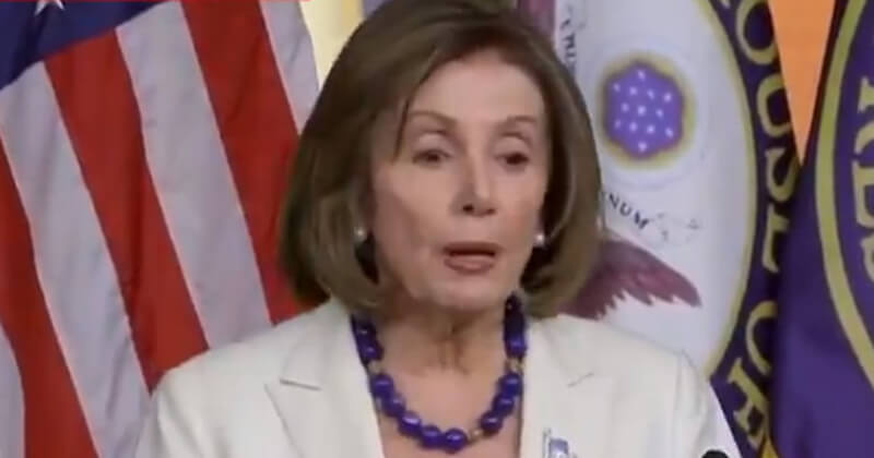 Pelosi Slurs Words In Latest Video, Accused Of Being Drunk
