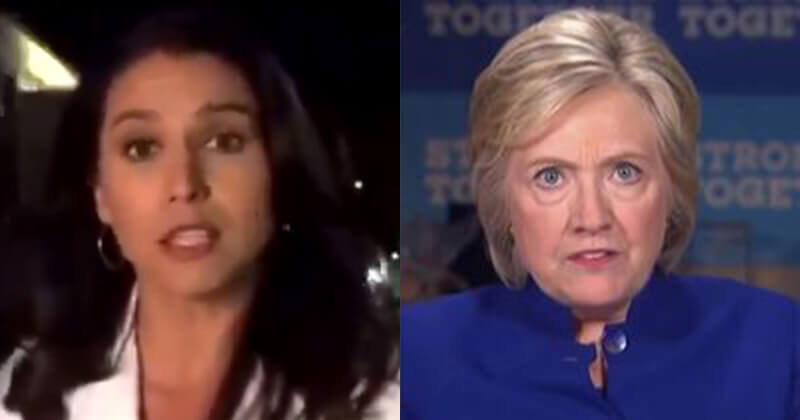 Gabbard, 'I'm Running To Undo Hillary Clinton's Failed Legacy'
