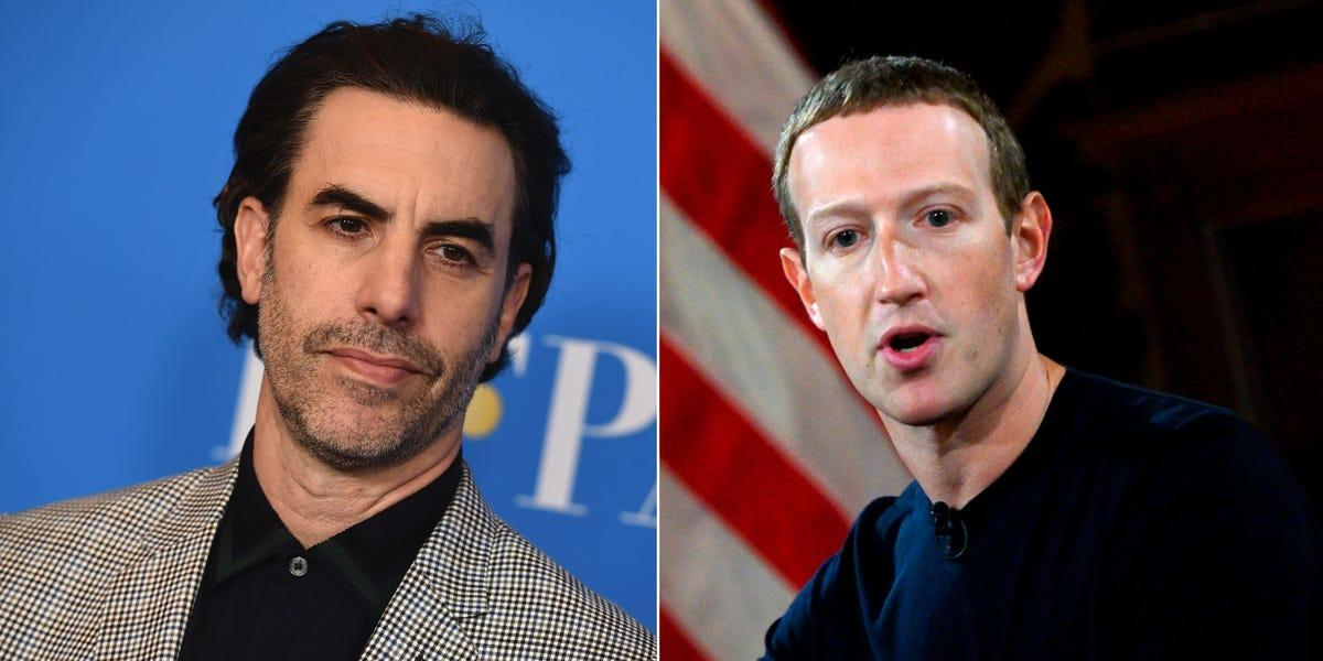 "Sacha Baron Cohen Rips Zuckerberg As Running The ""Greatest Propaganda Machine In History"""