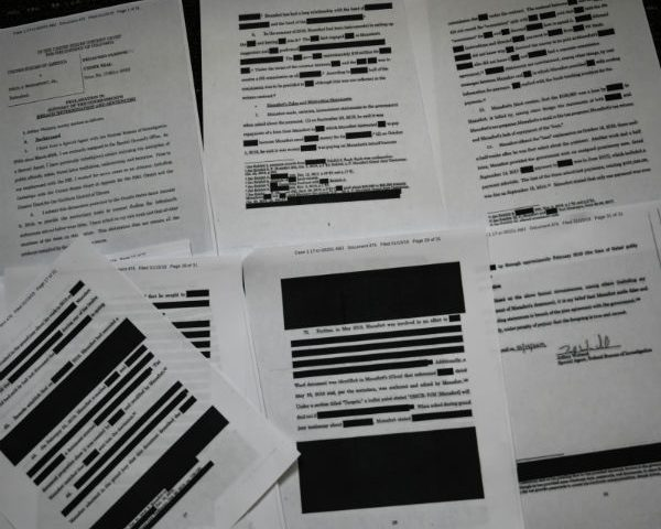 DOJ Releases 500 Pages of Memos From Mueller Probe