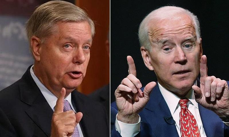 Lindsey Graham Barks Back At Biden Over 'Obvious Conflict Of Interest' With Hunter And Burisma