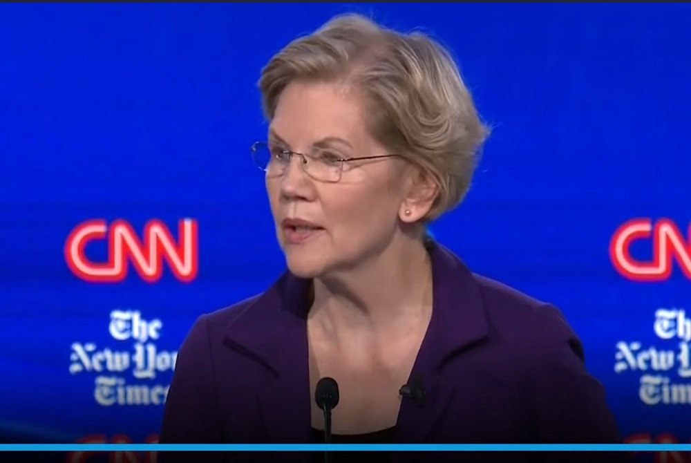 Elizabeth Warren Vows To Use Taxpayer Dollars To Tear Down Border Wall