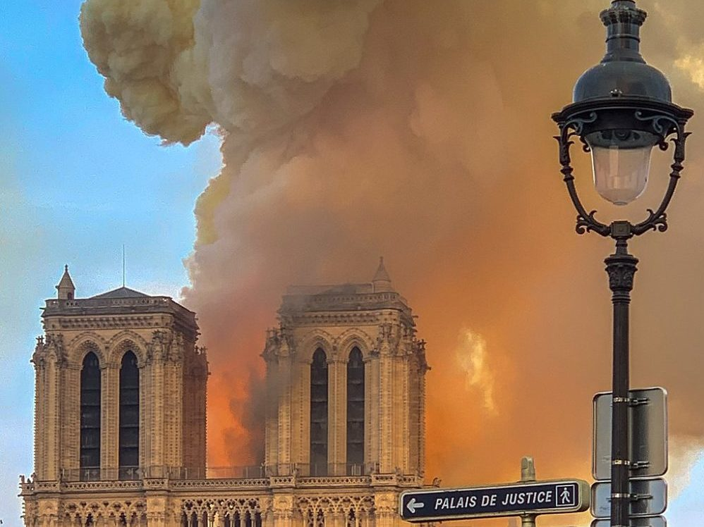 Notre Dame De Paris Still In Grave Danger, '50 Percent Chance It Will Be Saved'
