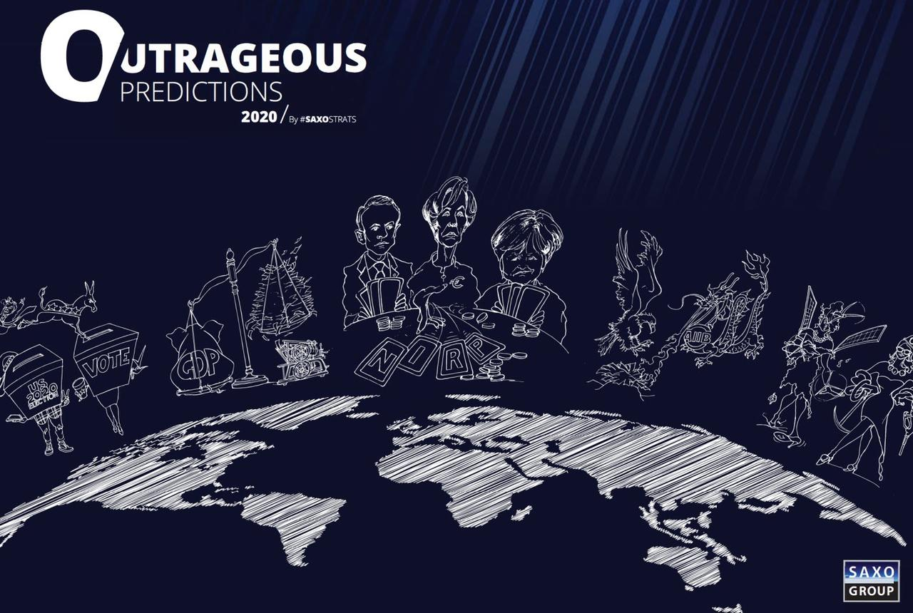 "Saxo Bank Unveils Its ""Outrageous Predictions"" For 2020"