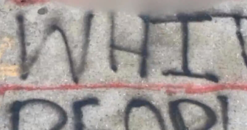 Racist Message Reading 'F**k White People' Found In NY Neighborhood, Media Silent