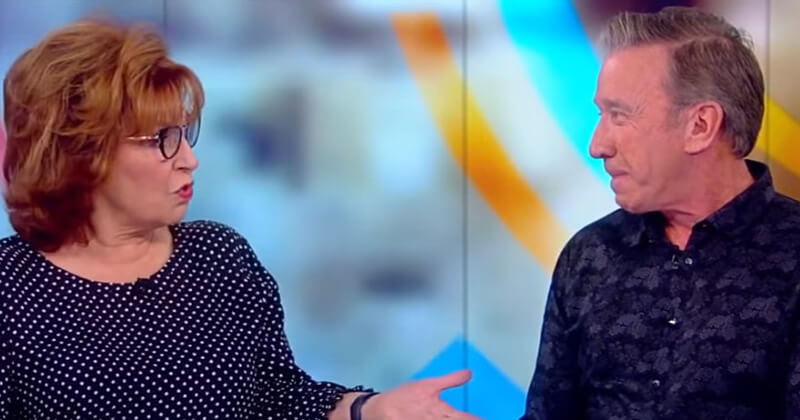 Tim Allen On 'The View,' Blasts 'Alarming' Level Of PC Culture To Joy Behar's Face