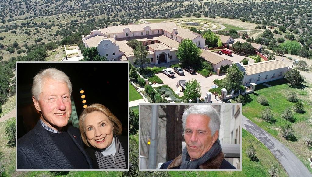 Clintons Vacationed Extensively At Epstein's New Mexico 'Baby-Making Ranch': Report