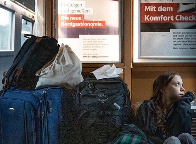 Greta Thunberg Busted After Bizarre Feud With German Railway Company