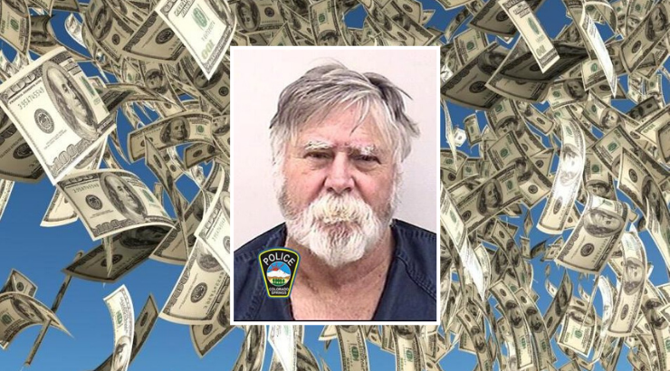 "Colorado Man Robs Bank, Throws Cash In The Air Yelling ""Merry Christmas!"""