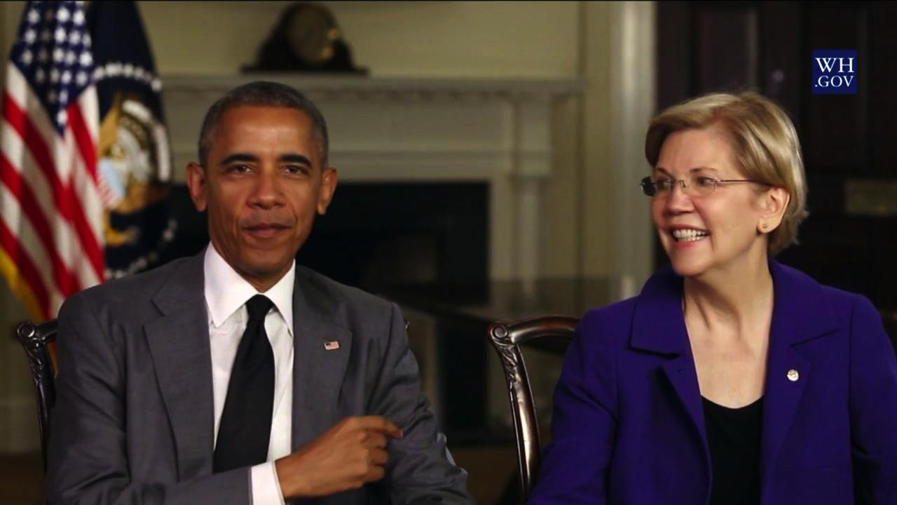 Joe Who? Obama Privately Telling Top Donors To Rally Around Warren