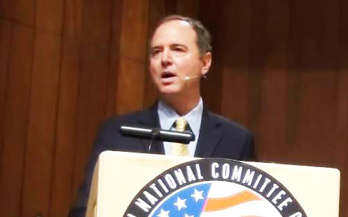 """You Should Go To Fuc*in' Jail"": Chaos Ensues As Schiff Accused Of 'Treason' At California Event"