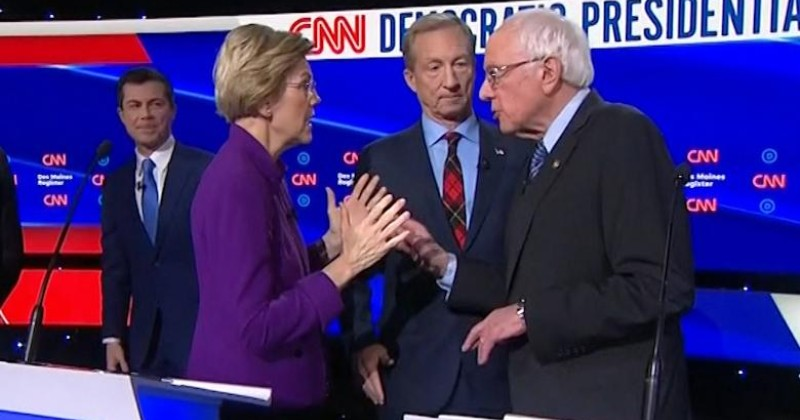 The Real Reason Warren Refused to Shake Bernie's Hand