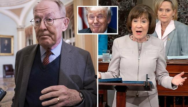 Friday Trump Acquittal Eyed After Lamar Alexander Says 'No' To Witnesses; Collins Roasted Over 'Yes' Vote