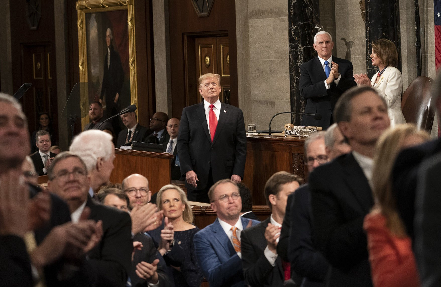 Read The Full Transcript Of Trump's State Of The Union Address