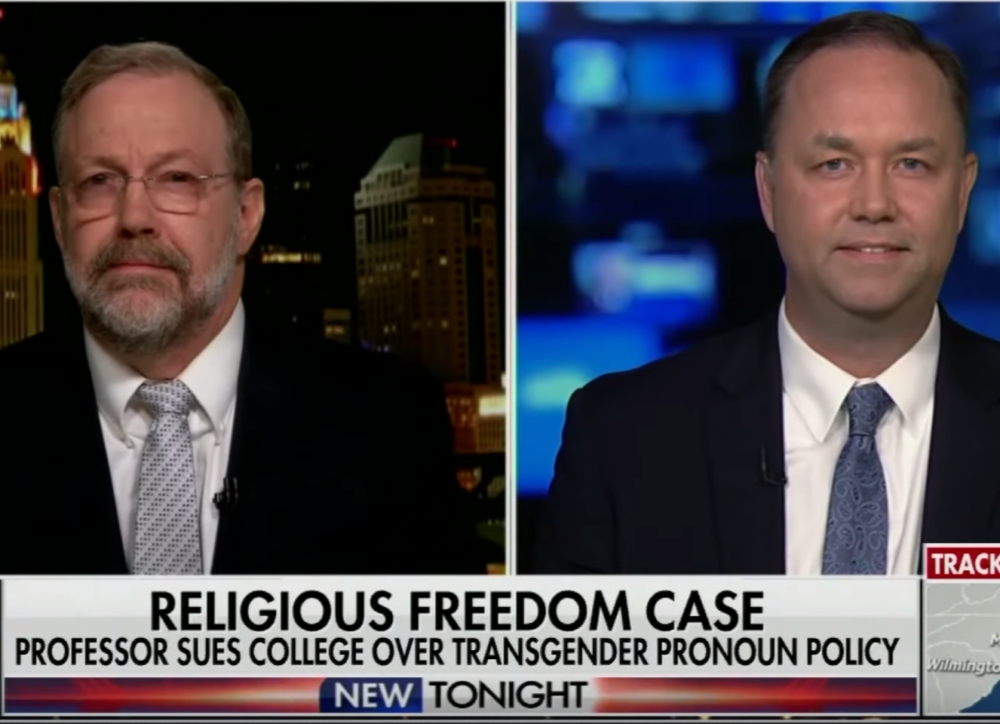 Ohio Court Orders Christian Professor To Use Trans Pronouns Or Lose His Job