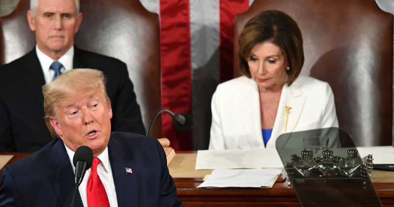 Planned Spectacle: Pelosi 'Pre-Ripped' SOTU Speech