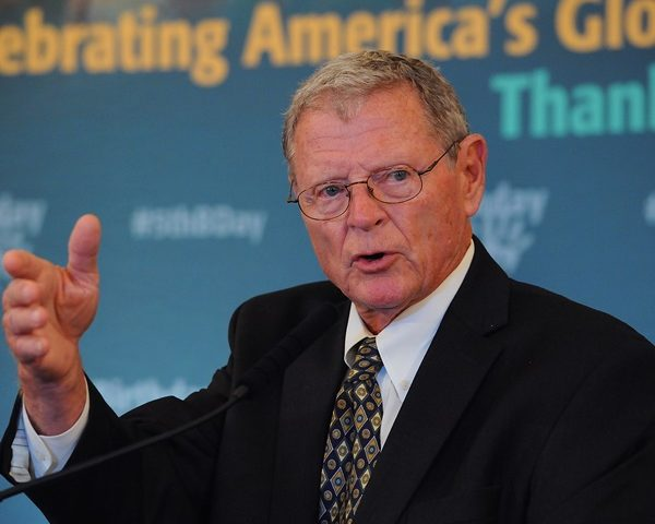 Sen. Inhofe Slams Insider Trading Charges as '100 Percent False'