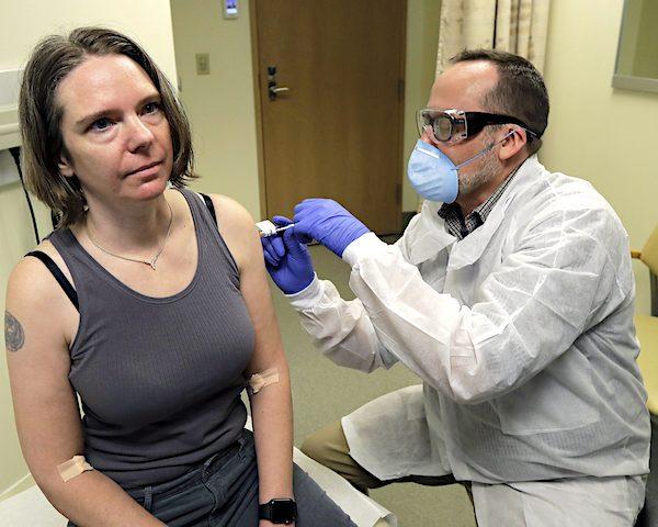 First Coronavirus Vaccine Subject: 'Amazing Opportunity'
