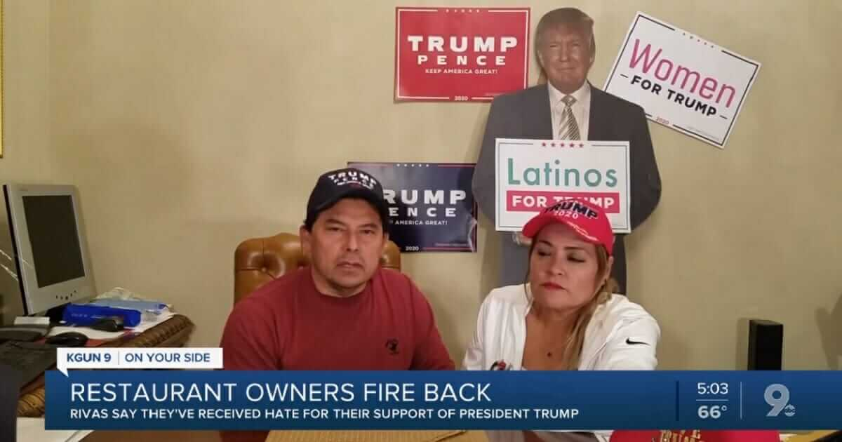 Libs Attack Trump-Supporting Mexican Restaurant Owners, But MAGA Backers Ride to the Rescue
