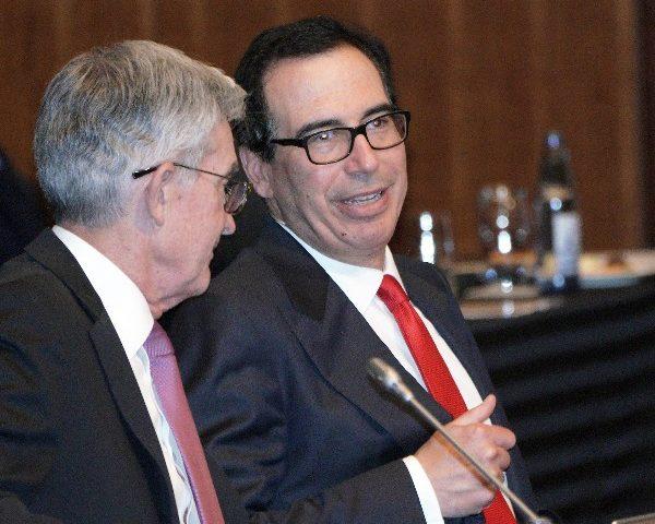 Mnuchin, Powell Lead G-7 Central Banks' Virus Response