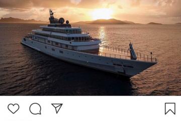 "Billionaire David Geffen Incites Social Media Riot After Posting Photos ""Quarantined"" On His $590 Million Superyacht"