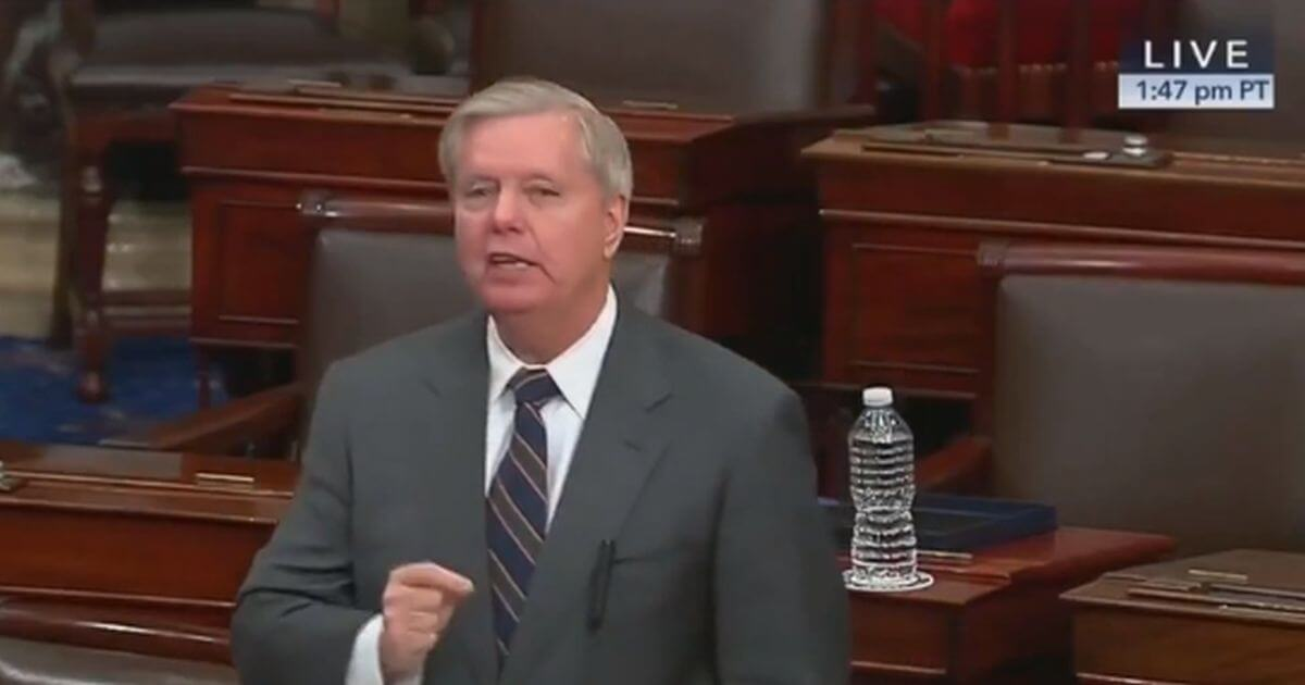 Lindsey Graham Explains The Main Problem With Coronavirus Relief Bill