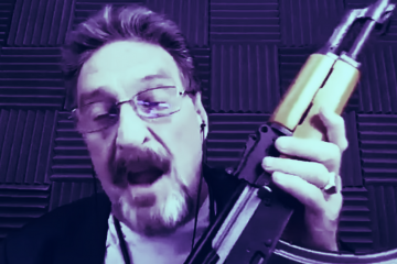 """Go Buy Guns First"" - John McAfee Warns Governments ""Are Deceiving You"" About Virus"