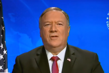 "There's ""Enormous Evidence"" Coronavirus Originated From Wuhan Lab: Pompeo"